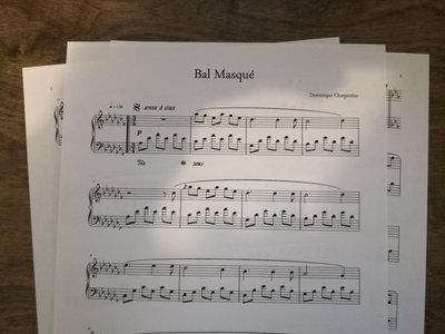 """""""Bal Masqué"""" Piano Sheet main photo"""