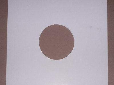 """10"""" WHITE CARD OUTER SLEEVES - 78 rpm/ Dubplate /Maxi Single (Pack of 25) main photo"""