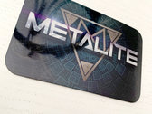 Metalite Glossy Sticker photo