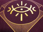 Norchestrion Eye Black/Burgundy T-Shirt photo