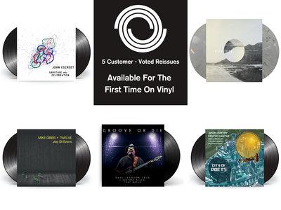 5-LP Bundle Set (Customer-Voted Reissues) 15% Discount main photo