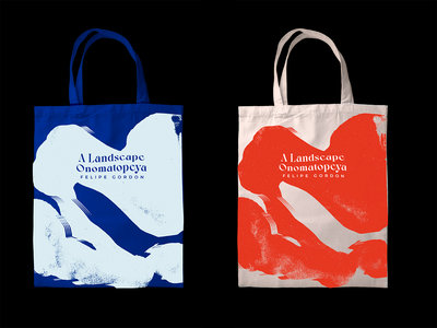 A Landscape Onomatopeya Tote Bag main photo