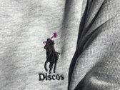Discos Fun Guy organic/recycled sweater (Grey, Navy Blue) photo