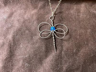 """Blue Butterfly"" Celtic Heartstring main photo"