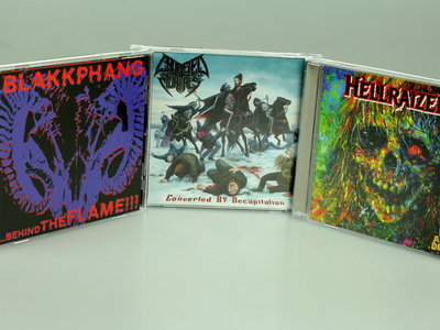 3 CD THRASH PACK main photo