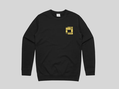Black Sweatshirt with Gold Embroidery (MENS) main photo