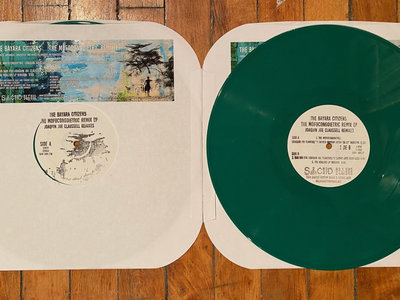 """The Bayara Citizens - Mofo Congoietric EP Remix - 12"""" Green Colored Vinyl Release - PRE-ORDER NOW. SHIPPING STARTS 2.16.21. SOLD OUT. main photo"""