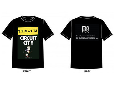 Circuit City Playbill T-Shirt + Download main photo