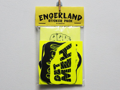 ENGERLAND Sticker Pack by FYONAFINN main photo