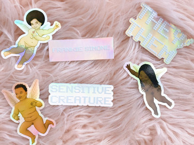 Sensitive Creature Holographic Sticker Pack *limited edition* main photo