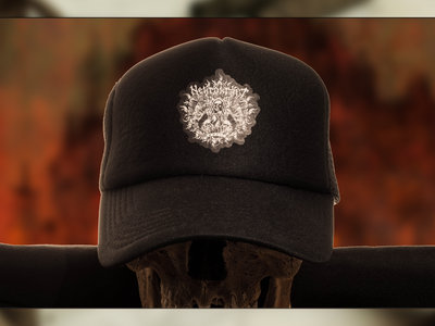 """Trucker Cap with """"Witches Emblem"""" main photo"""