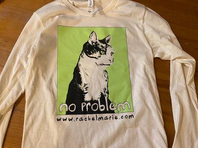 """No Problem"" Long-sleeved T-shirt main photo"