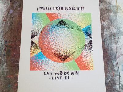 Lay Me Down - original Screenprinted Poster main photo