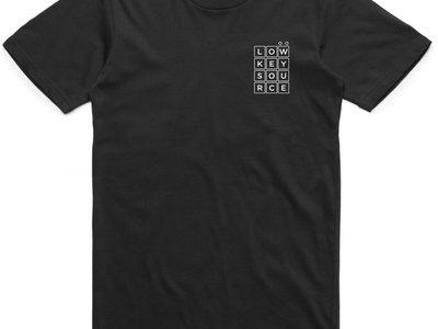Low Key Source logo Black t-shirt main photo