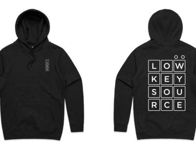 Low Key Source logo Black hoodie main photo