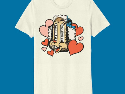 Sufjan Stevens - Beaver Tell Me You Love Me - T-Shirt (Pre-order / Ships April 2021) main photo
