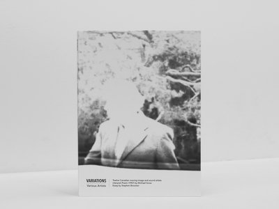 VARIATIONS - Various artists on Michael Snow - DVD + Essay main photo