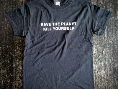 The official Church of Euthanasia T-Shirt (Earth) main photo