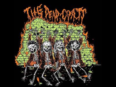 Dead Skulls- Black Unisex Tee- The Dead Coats main photo