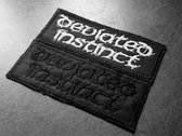 Deviated Instinct logo Embroidered Patch photo
