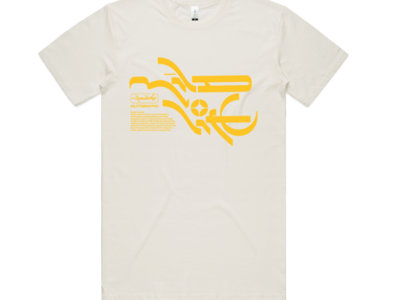 Mineral T-Shirt - Natural/Yellow main photo