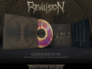 REVULSION - Self-titled Gatefold LP with Metallic Effect Sleeve and UV Lamination (Limited to 100 nos. per variant) main photo
