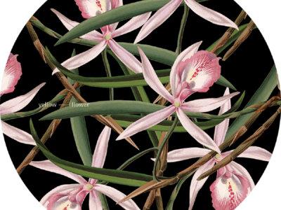 YFSLIP016 - Yellow Flower Single Slipmat main photo