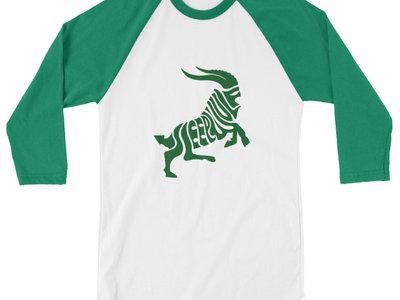 SleepGoat 3/4 Sleeve T Shirt: Free global shipping main photo