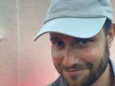Happiness Therapy embroidered cap : pastel blue photo