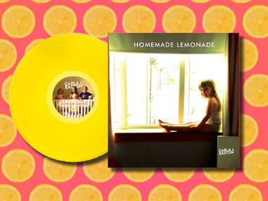 Signed Homemade Lemonade: 5th Anniversary Edition, remastered on Lemon Yellow vinyl main photo