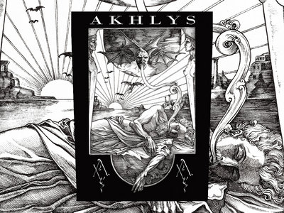 """Akhlys """"Oneiroi"""" Backpatch. PREORDER main photo"""