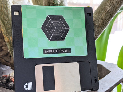 """Iseeicy - SAMPLE_FLIPS.002 3.5"""" FLOPPY DISK main photo"""