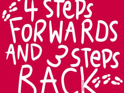 4 Steps Forward and 3 Steps Back Shirt main photo
