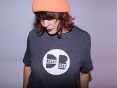 Men's/Womens Charcoal Heather t-shirt with official dB Logo. ONE-RATE SHIPPING FOR ENTIRE ORDER photo
