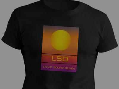 Liquid Sound Design 100% Organic T-Shirt : Black main photo