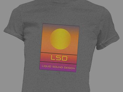 *50% OFF* Liquid Sound Design 100% Organic Ladies T-Shirt : Heather Grey main photo