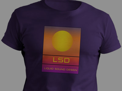 LSD 100% Organic T-Shirt : Purple main photo