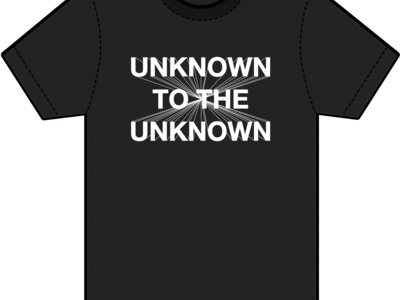 Unknown To The Unknown Classic Logo Tee main photo