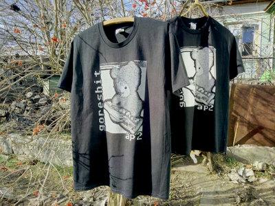 "Screen-printed ""Goreshit - ap2"" t-shirt main photo"