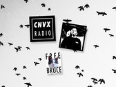 CNVX RADIO - Pocket logo T + Stickers photo