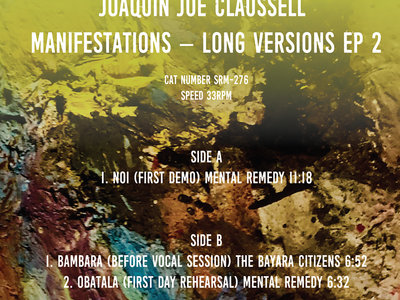 """PRE-ORDER NOW: Joaquin Joe Claussell - Manifestation's Limited Color Vinyl 12"""" Vinyl EP Two - Release Date 3.24.21 main photo"""