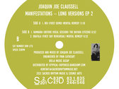 """PRE-ORDER NOW: Joaquin Joe Claussell - Manifestation's Limited Color Vinyl 12"""" Vinyl EP Two - Release Date 3.24.21 photo"""