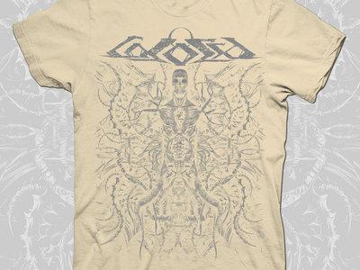 HATRED raw white T-shirt main photo
