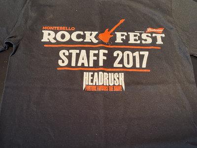 Rockfest 2017 - T-Shirt original / Original Print *RARE main photo