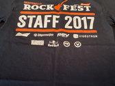 Rockfest 2017 - T-Shirt original / Original Print *RARE photo