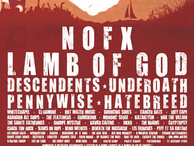 Rockfest 2011 - Affiche originale / Poster Original Print *RARE main photo
