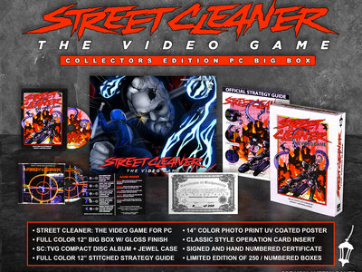 Street Cleaner: The Video Game (Collector's Edition BIG BOX) main photo