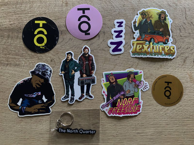 NQ Sticker Pack & Keychain 2021 (8+1) main photo