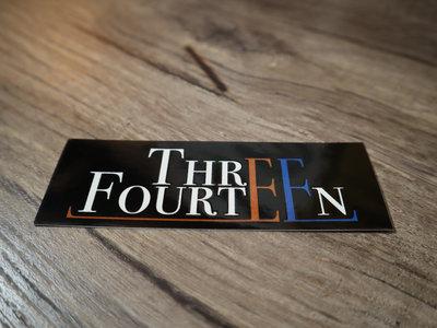 Three Fourteen Sticker (Classic Logo) main photo