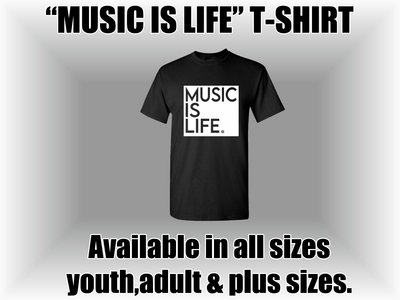 Music Is Life (Black) main photo